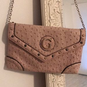 Guess Clutch Light pink